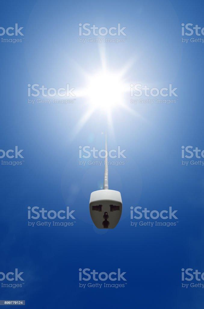 renewable energy (vertical) stock photo