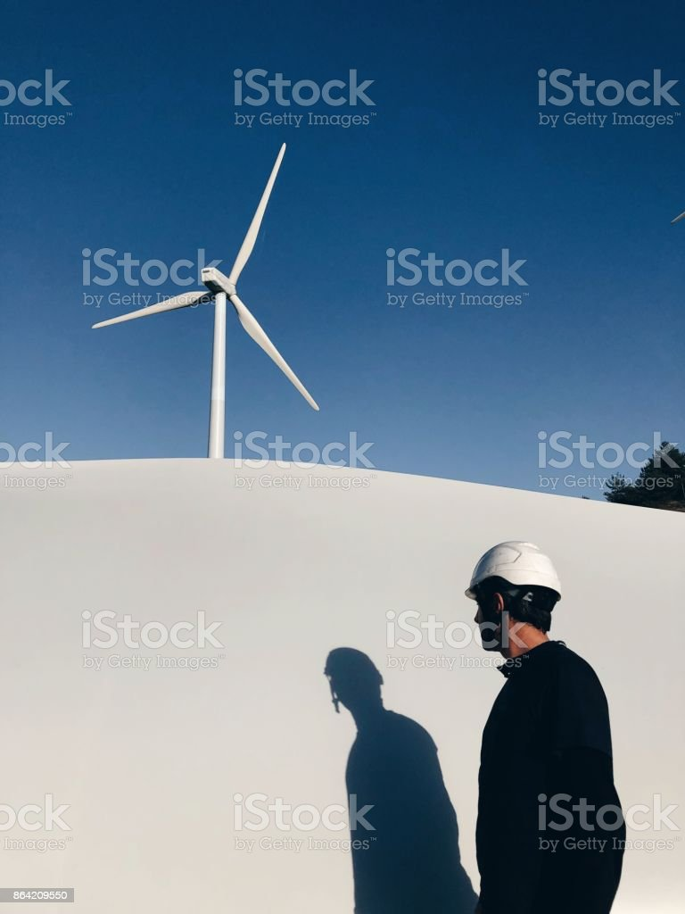 Renewable Energy Plants royalty-free stock photo