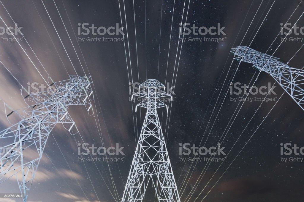 Renewable Energy Plants stock photo