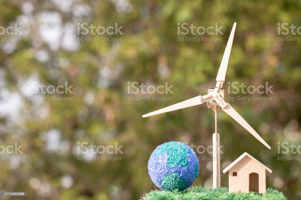 Renewable energy power future alternative, green clean electric...