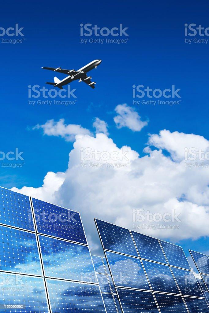 Renewable Energy - Solar Panels (XXL) royalty-free stock photo
