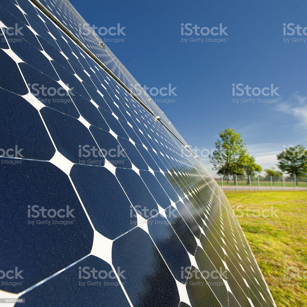 Renewable Energy - Solar Panels stock photo