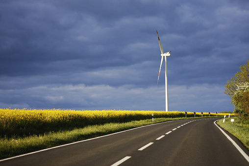 Renewable Energy Source Energy Security And Road Traffic Safety Stock Photo - Download Image Now
