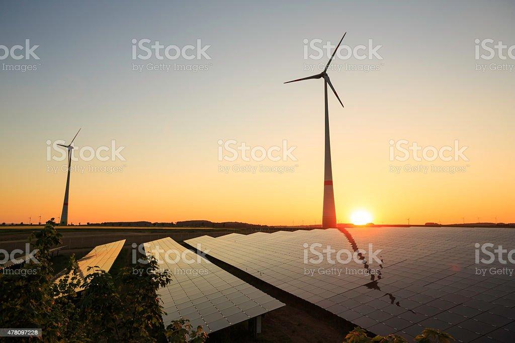 Energii ze źródeł odnawialnych zbiór zdjęć royalty-free