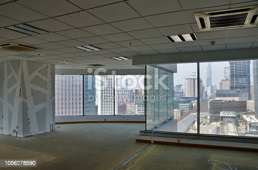 istock Renewal office decoration. 1056278590