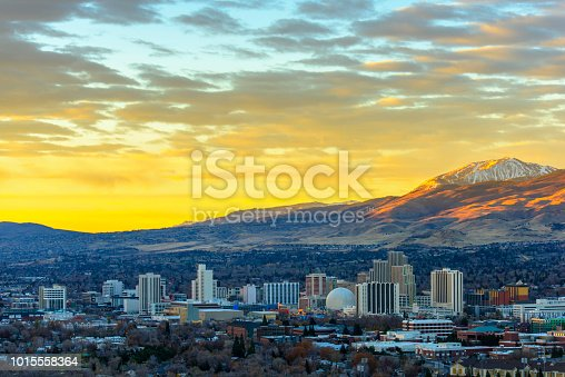 Reno at sunrise