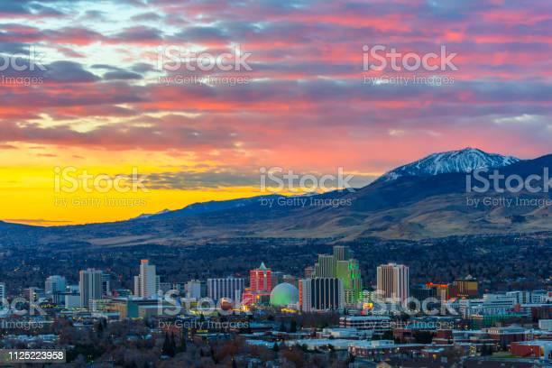 Photo of Reno , Nevada at dawn