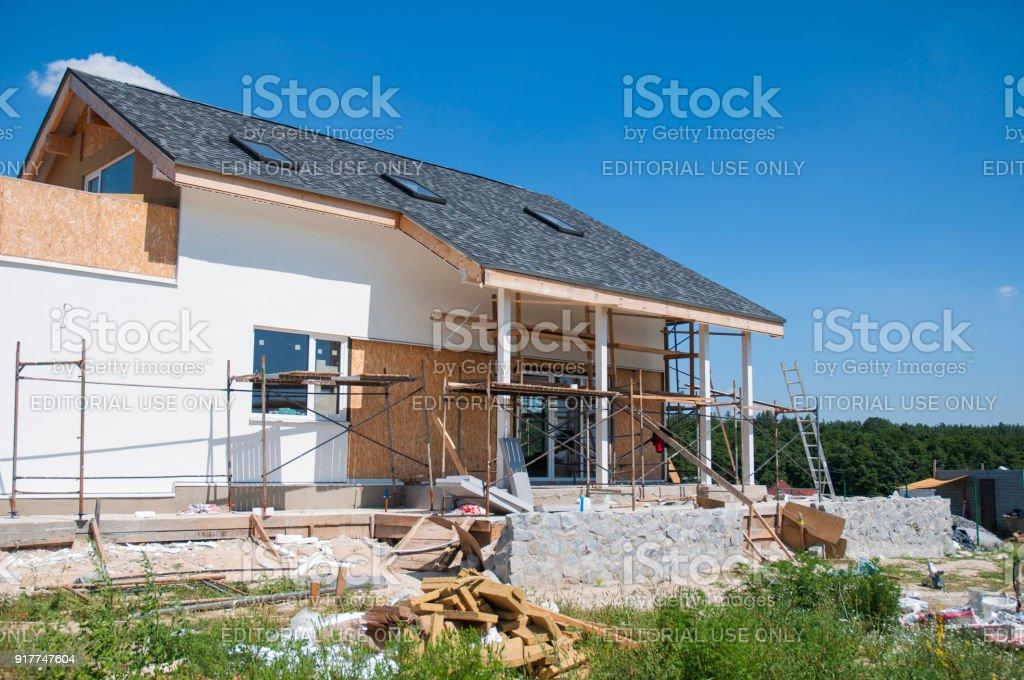 Wärmedämmung Beim Hausbau renovieren sie und reparieren sie wohnhaus fassade wand mit stuck