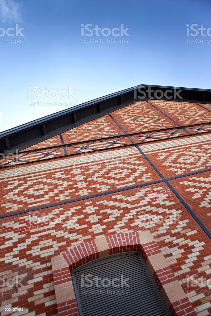 Rénovée, bâtiment en brique - Photo