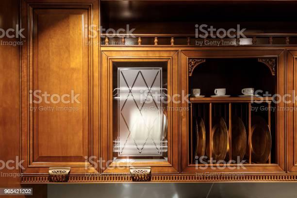 Odnowione Wnętrze Kuchni Ze Stylowymi Drewnianymi Detalami - zdjęcia stockowe i więcej obrazów Bez ludzi