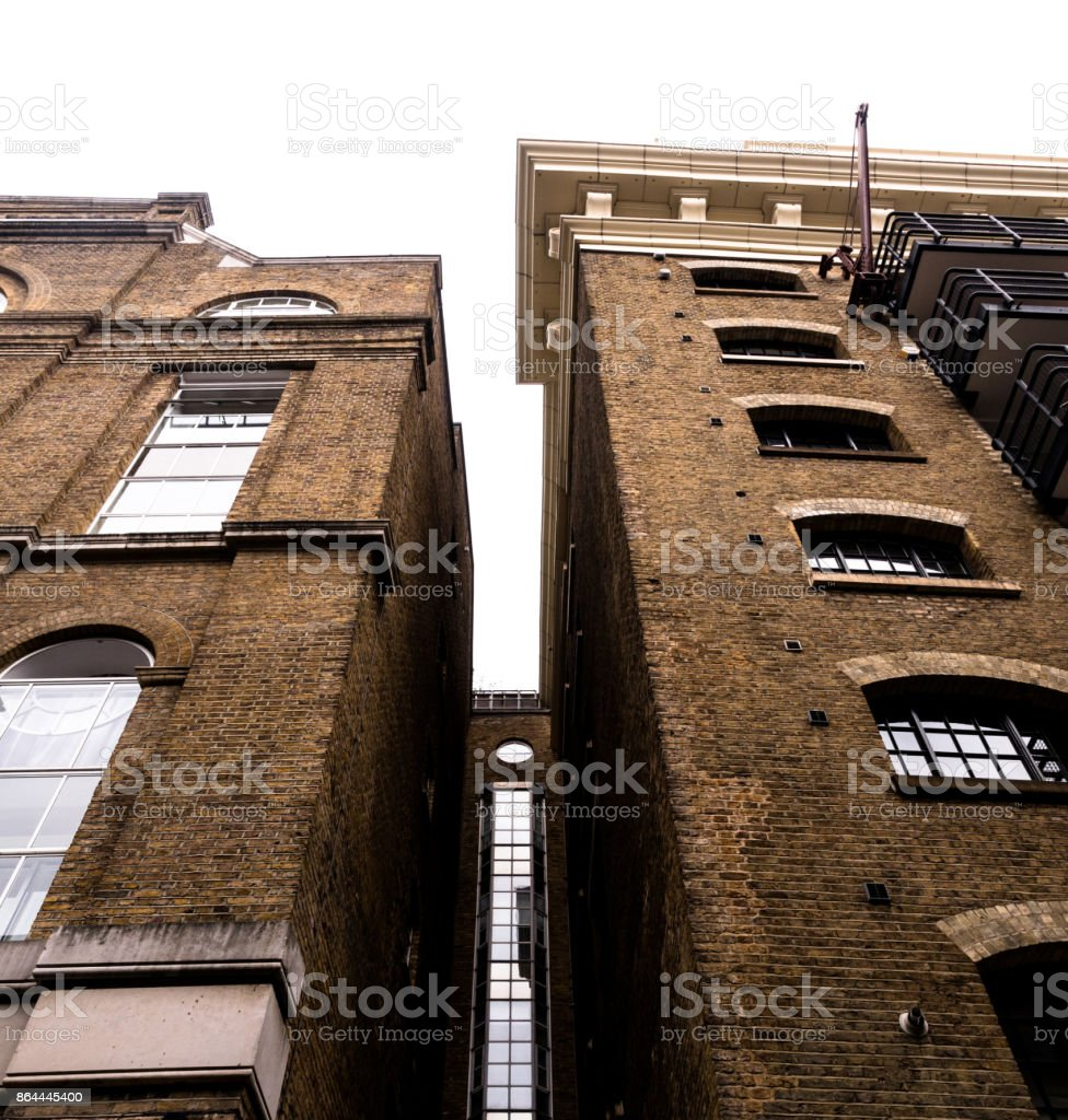 Renovated Old Buildings stock photo