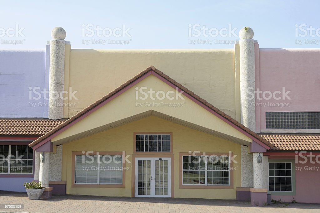 Renovated store front royalty-free stock photo