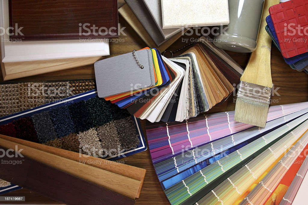 Renovating stock photo