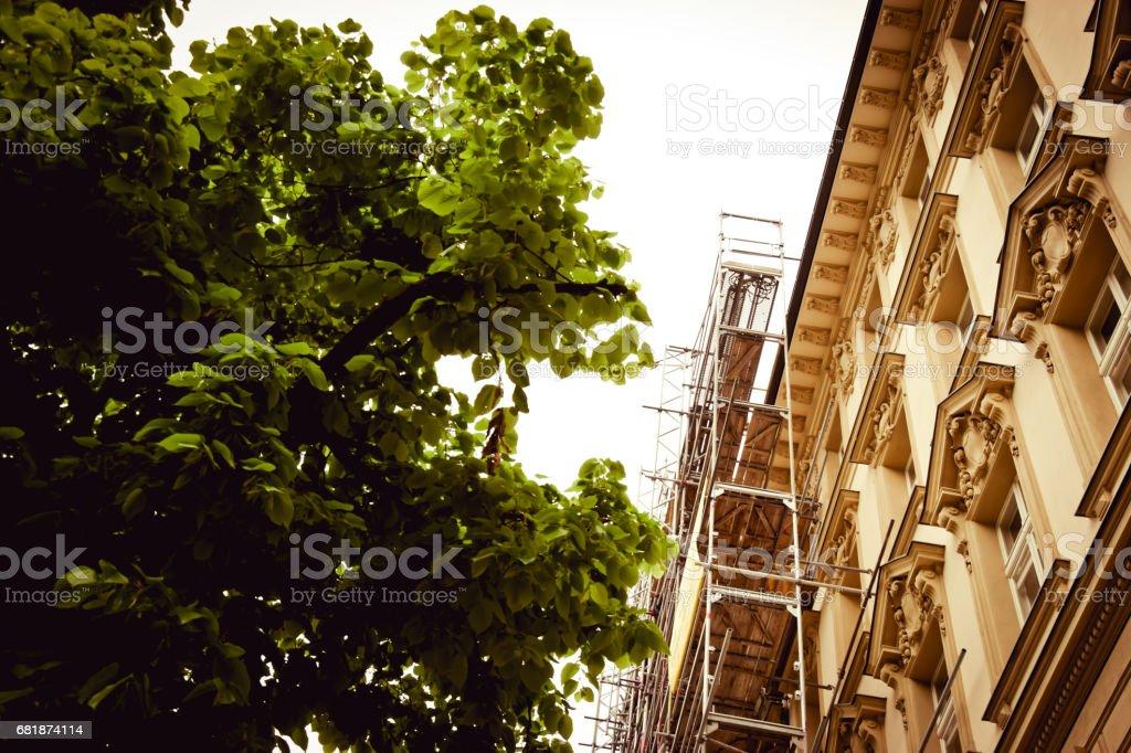 Renovierung von alten Gebäude – Foto