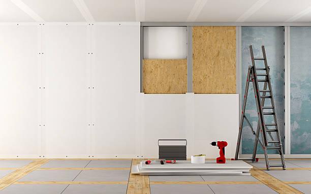 Travaux de rénovation d'une vieille maison - Photo