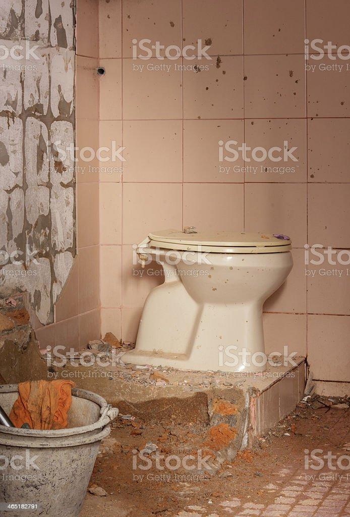 Renovierung Alter Toilette Stockfoto und mehr Bilder von Alt ...