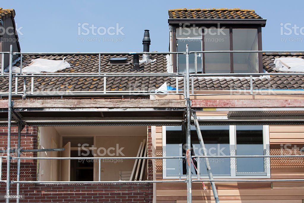 Renovation stock photo