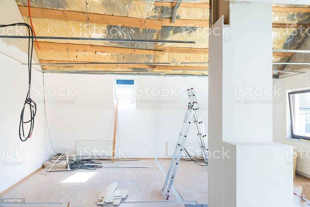 Di ristrutturazione - foto stock