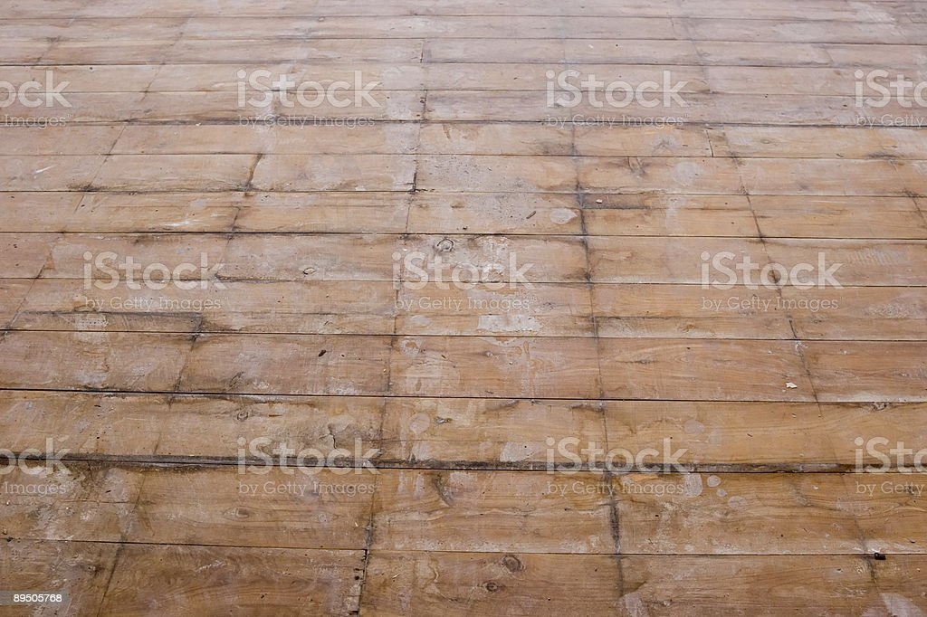 Rénovation de l'étage-Cèdre photo libre de droits