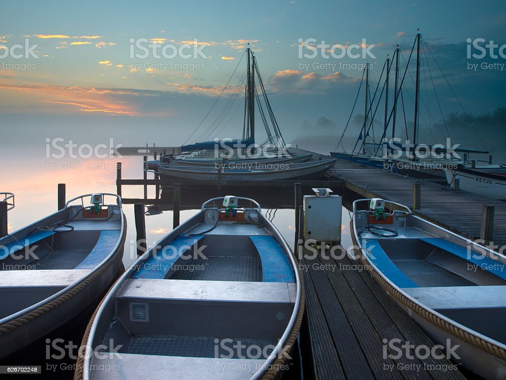rent a boat stock photo