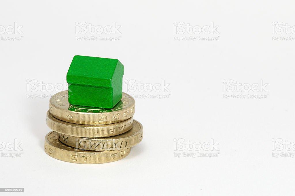 Rent money royalty-free stock photo