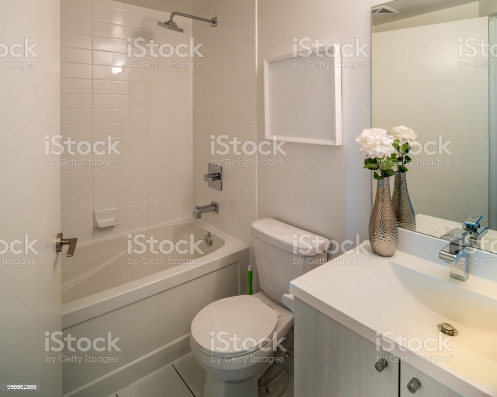 Rental condo Interior stock photo