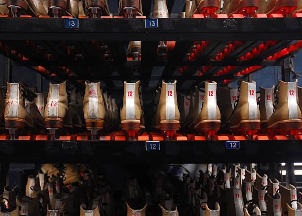 Rental Roller Skates stock photo