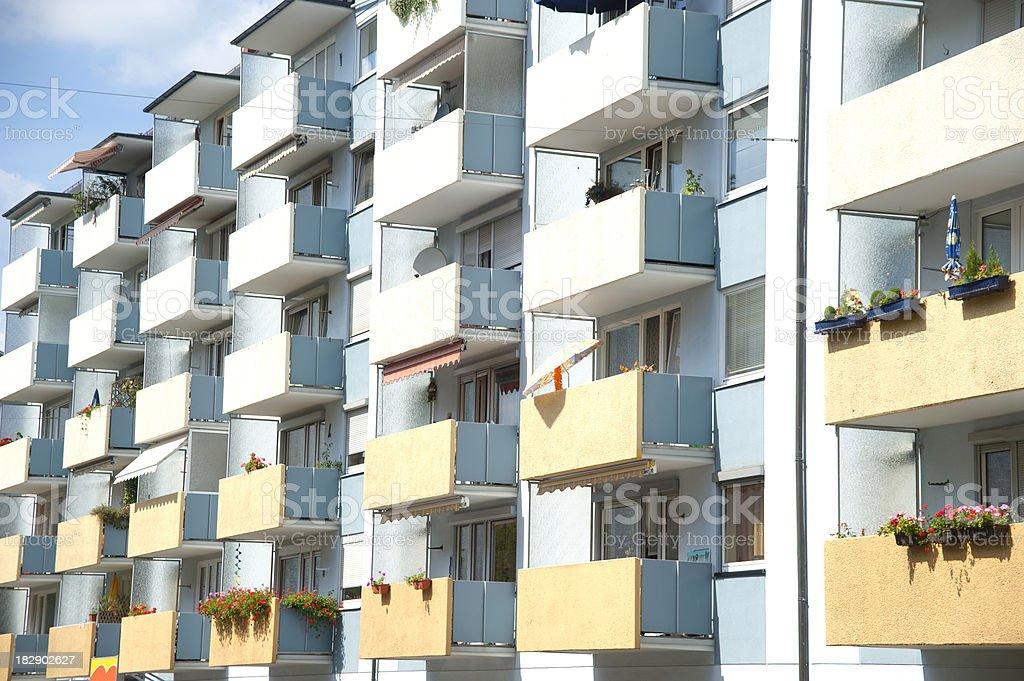 rented german flats royalty-free stock photo