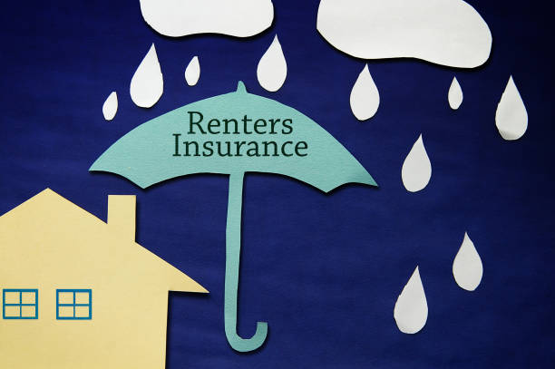 Renters Insurance house stock photo