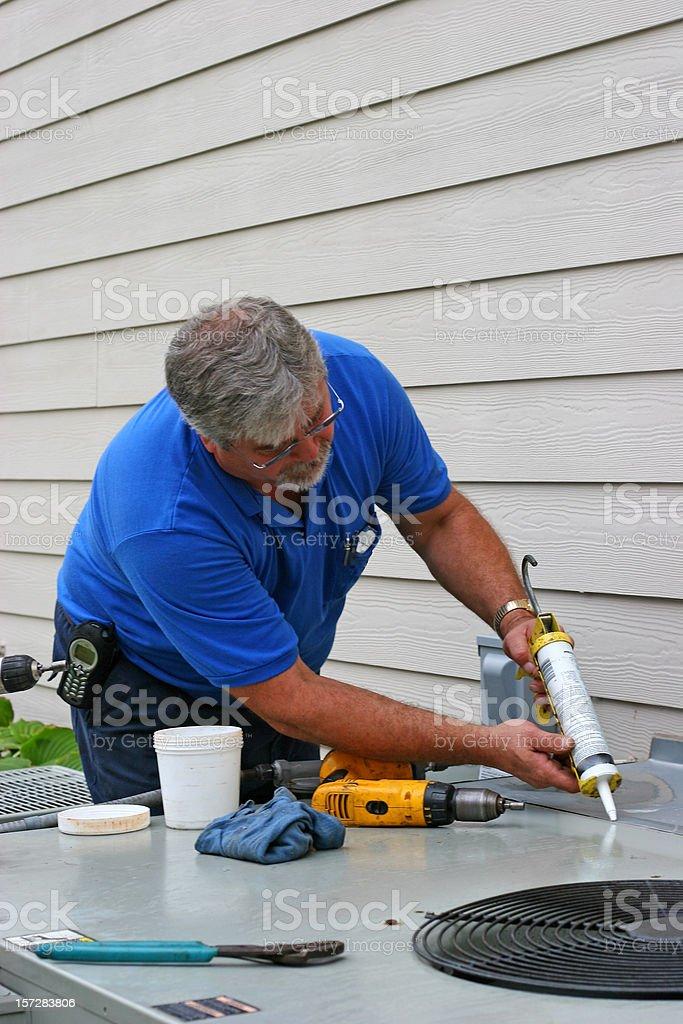 AC Repair 10 royalty-free stock photo