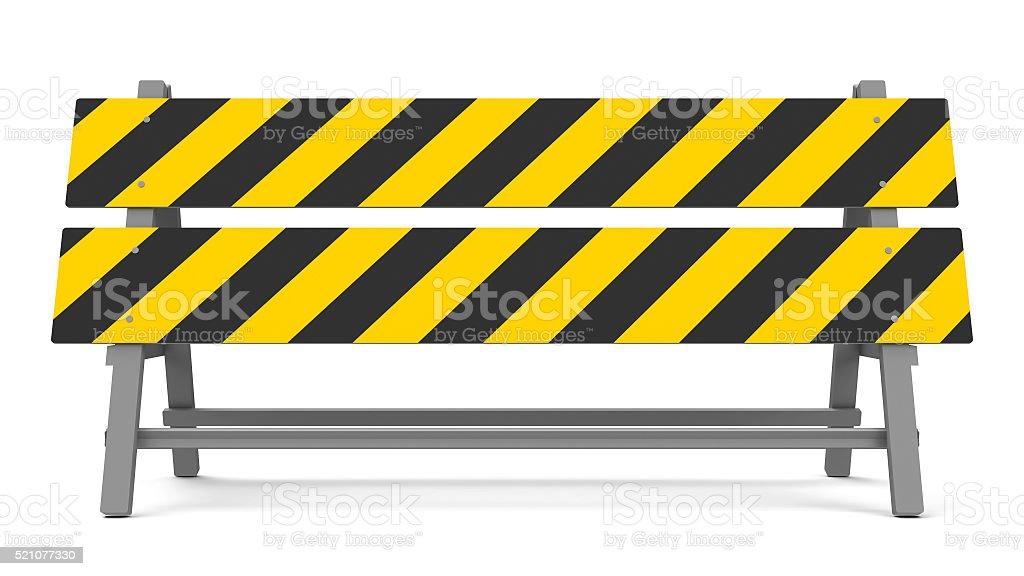 Repair barrier stock photo