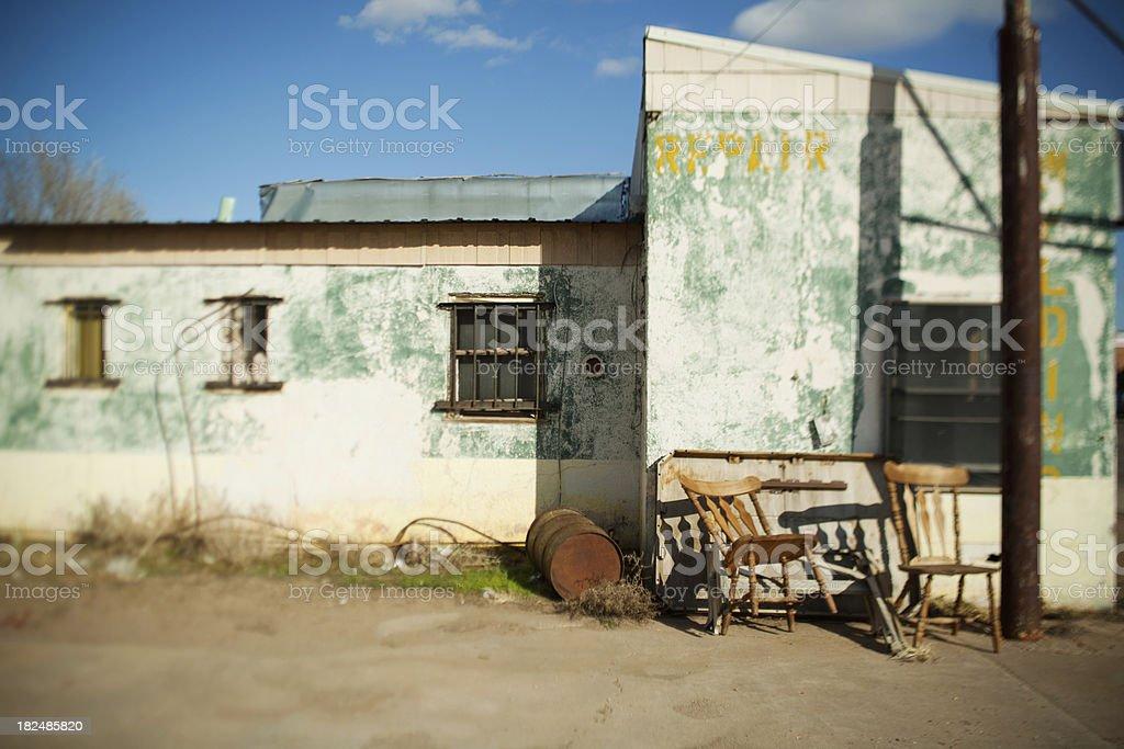 Repair building royalty-free stock photo