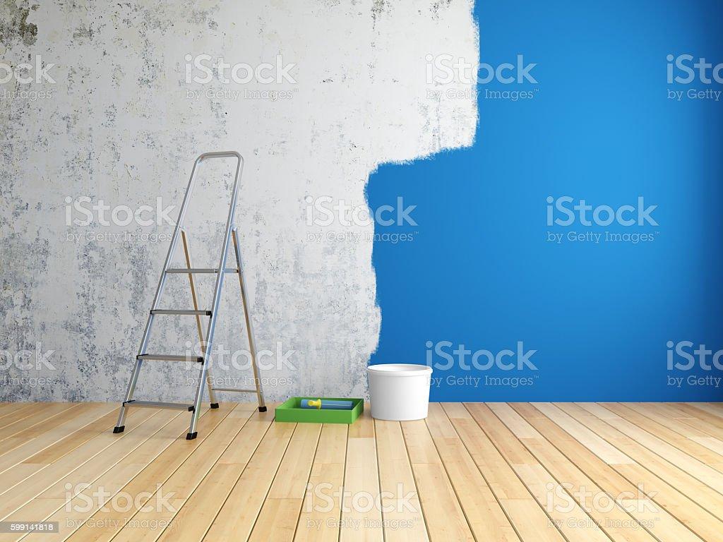 Reparo no quarto - foto de acervo