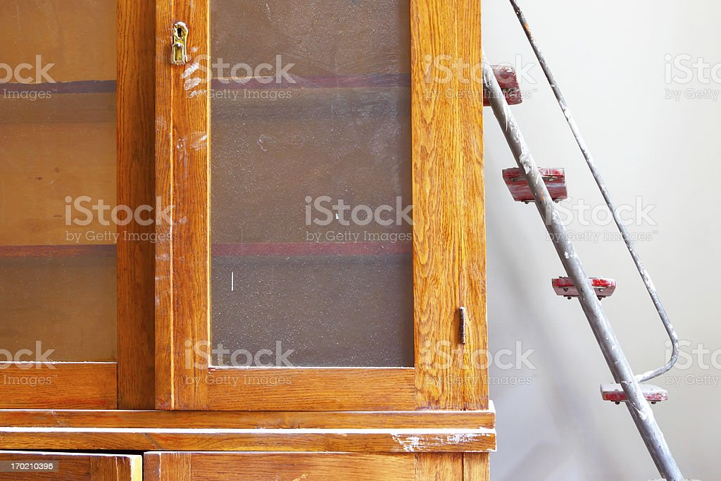Repair in the apartment royalty-free stock photo