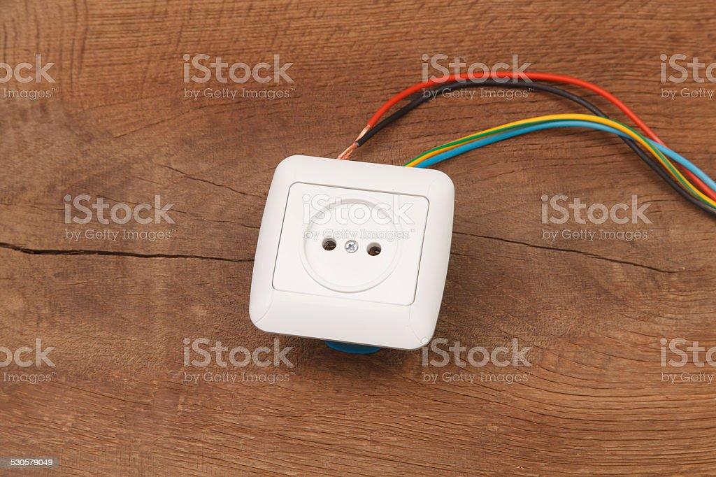 Reparatur Der Elektrischen Installation Im Haus Und Kabel ...