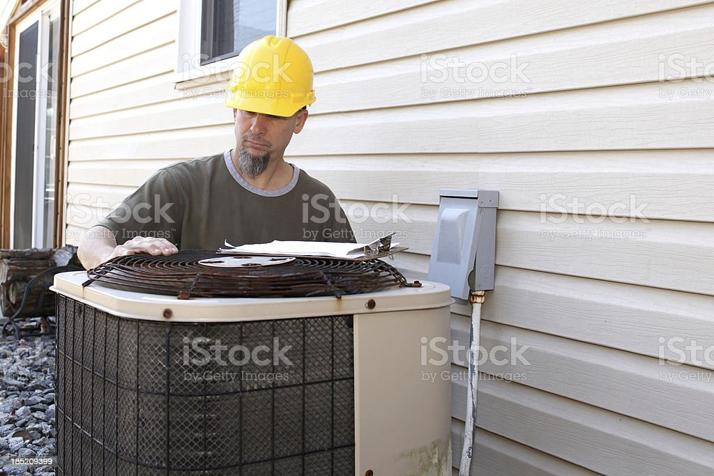 AC Repair royalty-free stock photo