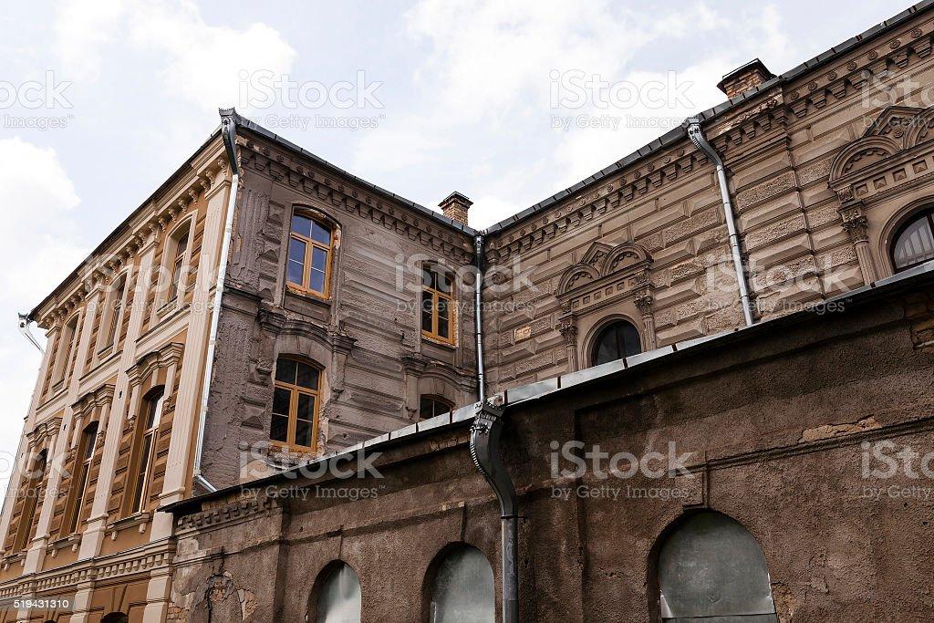 repair synagogues  , Belarus stock photo