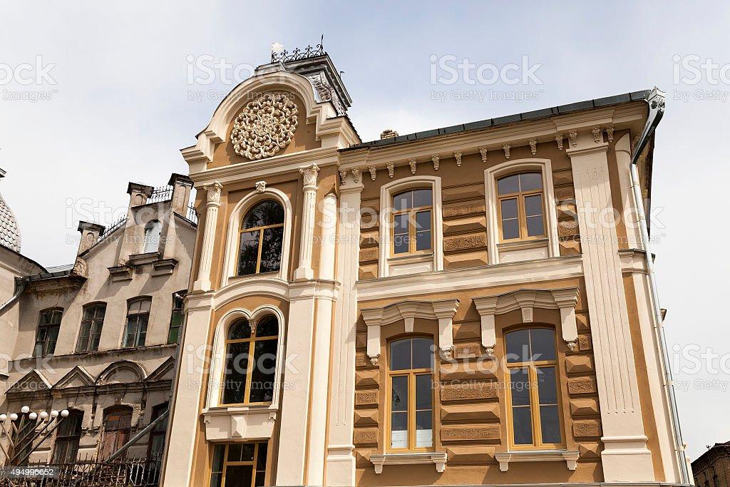 repair synagogues in Belarus stock photo