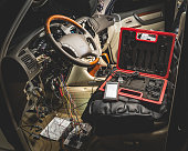 istock repair the wiring of the car 893574050