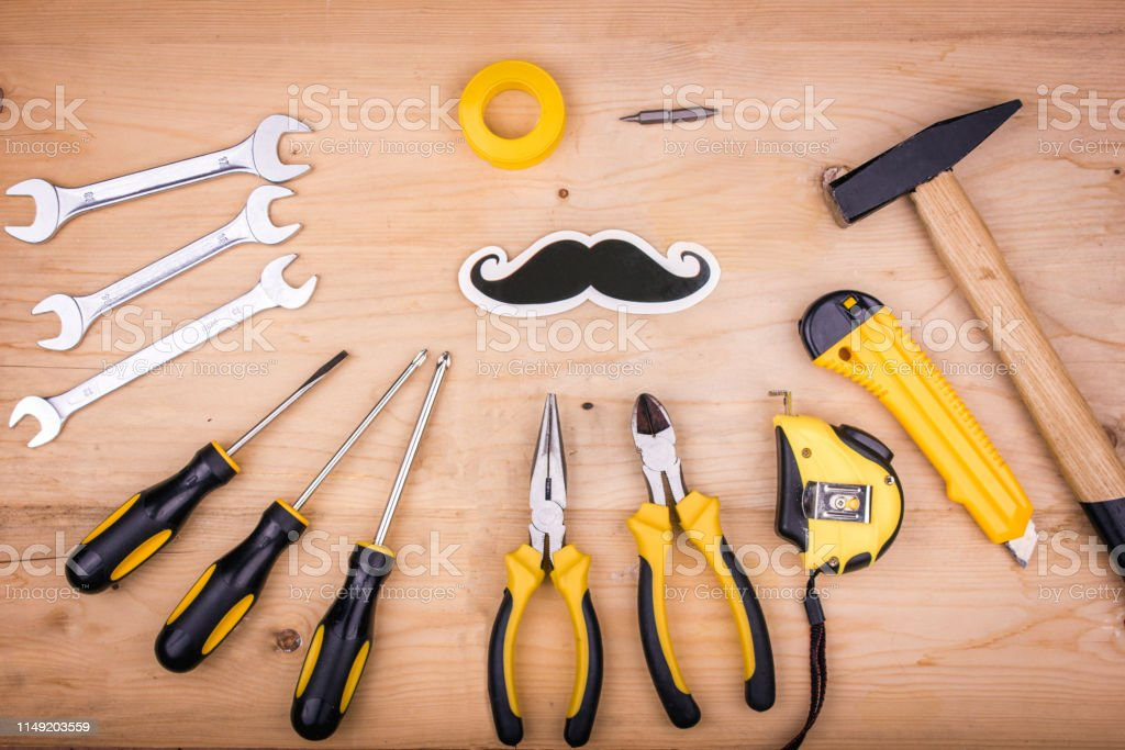 Repair tools - hammer, screwdrivers, adjustable wrenches, pliers....