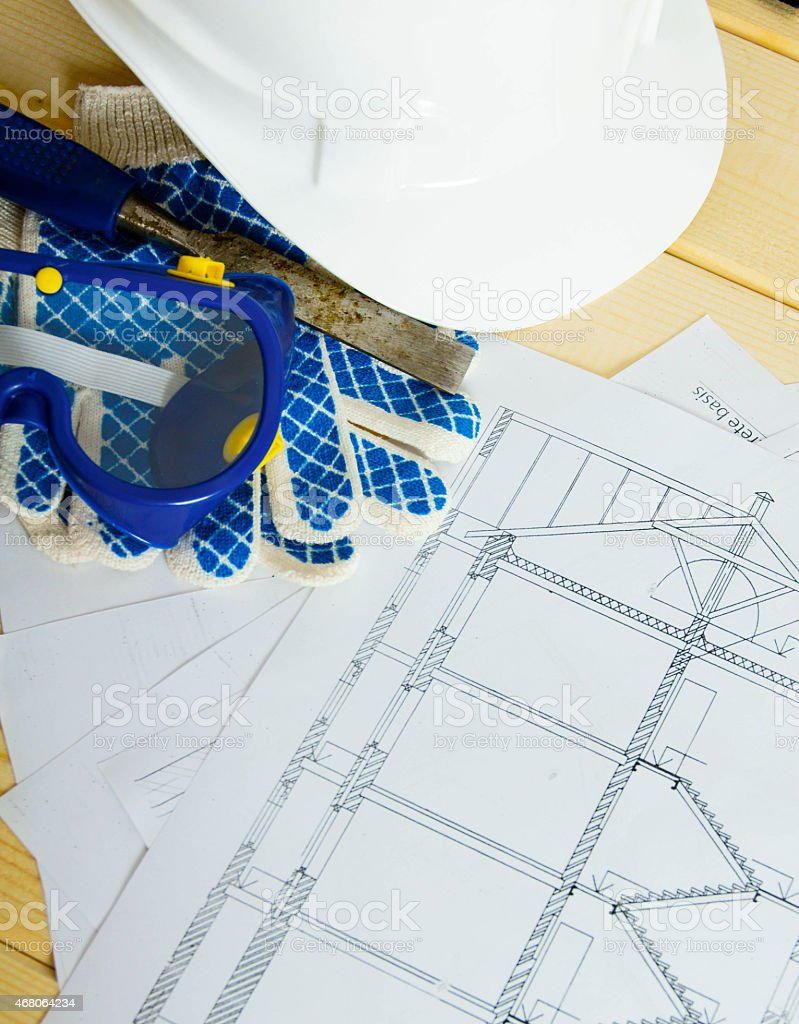 Repair Work Drawings For Building Helmet Gloves And Others