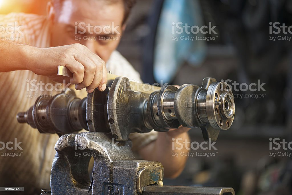 repairer royalty-free stock photo