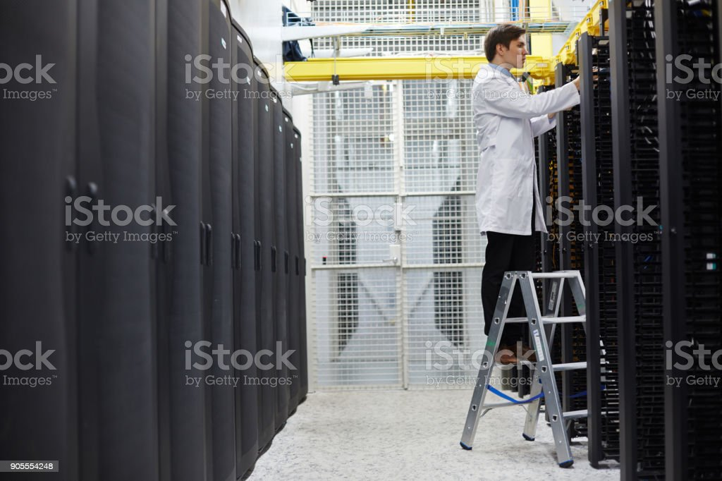 Repairing cryptocurrency system stock photo