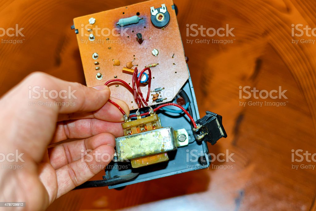Repairing stock photo