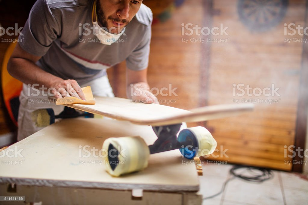 Repairing time stock photo