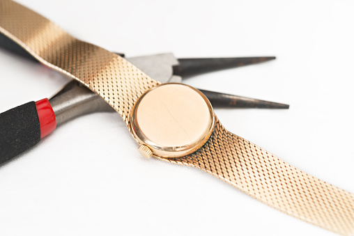 Foto de Reparação E Restauração De Relógios e mais fotos de stock de 2015