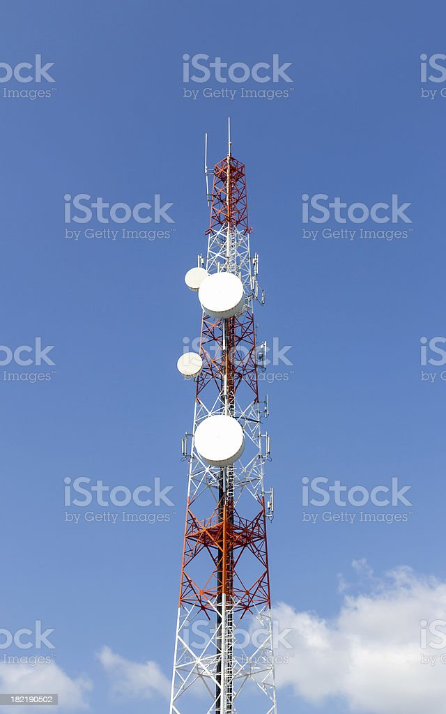 Repeater stations royalty-free stock photo
