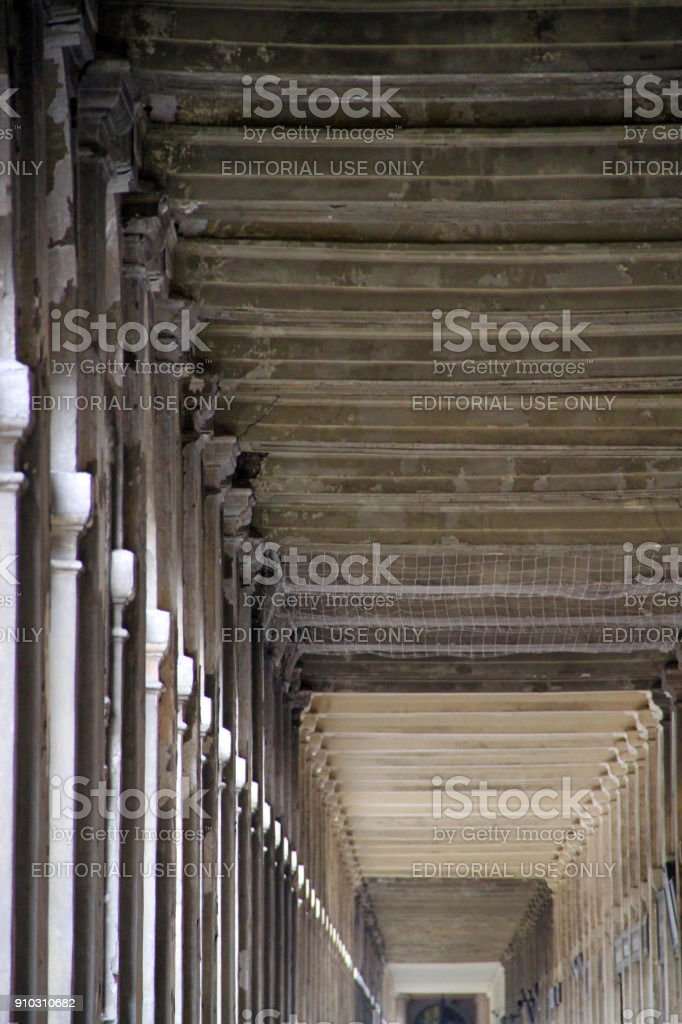 Repeating Roof stock photo