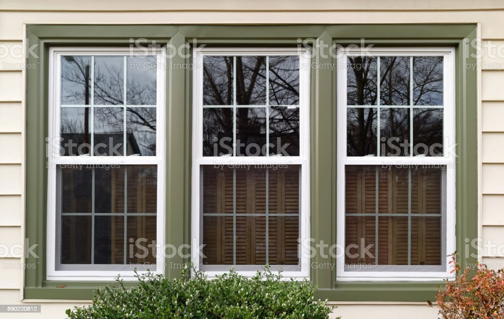 Replacement Windows stock photo