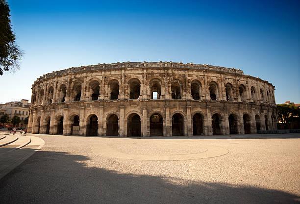Römische Kolosseum-Nimes, Frankreich – Foto